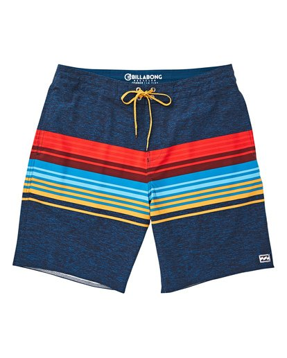 0 Boys' Spinner LT Boardshorts Blue B144TBSP Billabong