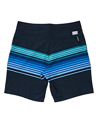 1 Boys' Spinner LT Boardshorts Blue B144VBSP Billabong