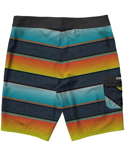 1 Boys' All Day OG Stripe Boardshorts  B160JASO Billabong