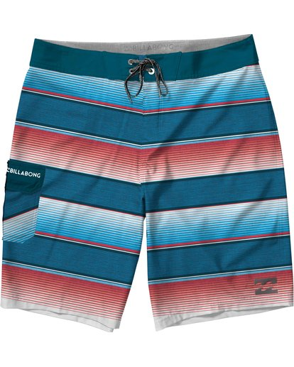 0 Boys' All Day OG Stripe Boardshorts  B160JASO Billabong