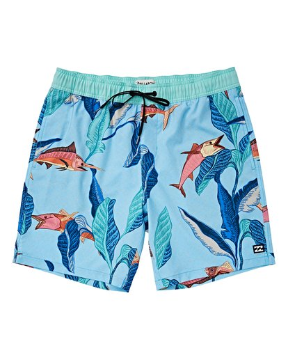 0 Boys' Sundays Layback Orange B180VBSU Billabong