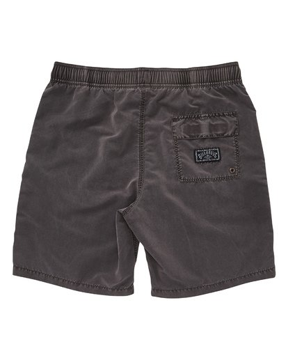 1 Boys' All Day Layback Boardshorts Black B182TBAD Billabong