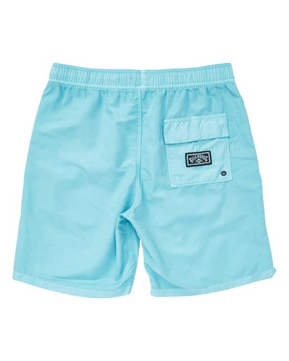 1 Boys' All Day Layback Boardshorts White B182TBAD Billabong