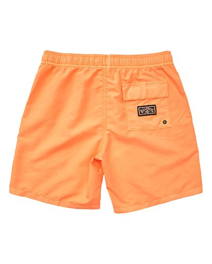 1 Boys' All Day Layback Boardshorts Multicolor B182TBAD Billabong