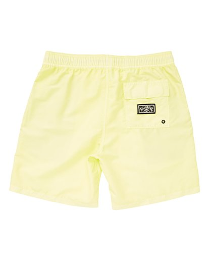 1 Boys' All Day Layback Orange B182VBAD Billabong