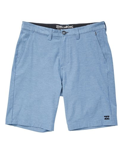 0 Boys' Crossfire X Shorts Blue B201TBCX Billabong