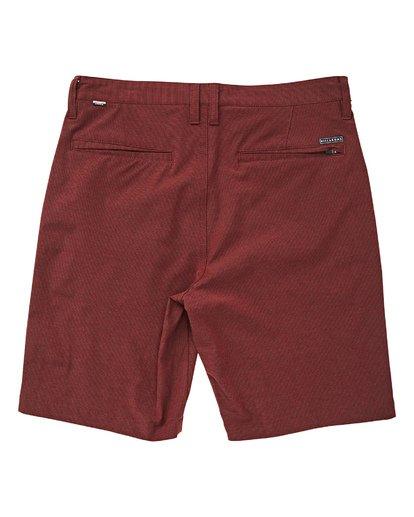 1 Boys' Crossfire X Shorts Red B201TBCX Billabong