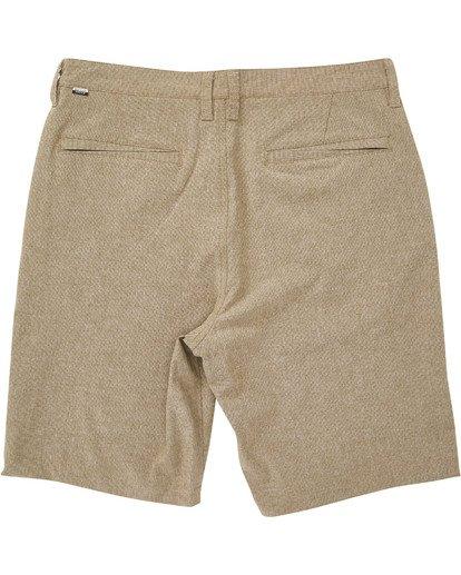 1 Boys' Crossfire X Shorts Beige B201TBCX Billabong