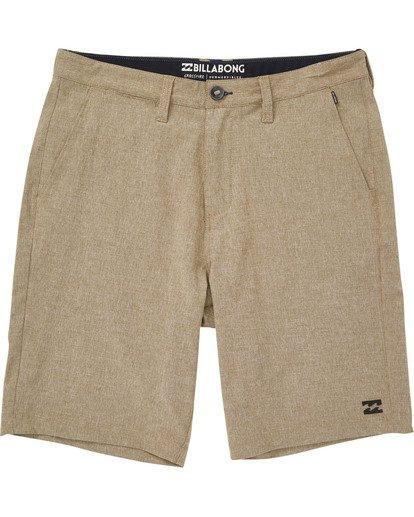 0 Boys' Crossfire X Shorts Beige B201TBCX Billabong