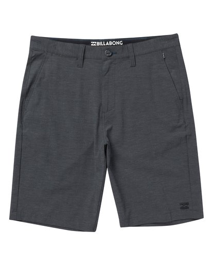 "0 Boys' Crossfire X Short 18"" Black B201VBCX Billabong"