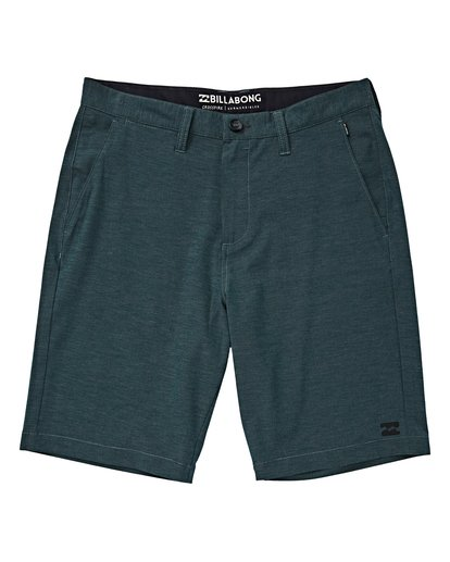 0 Boys' Crossfire X Shorts Green B201VBCX Billabong