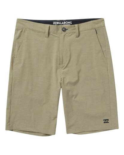 0 Boys' Crossfire X Shorts Beige B201VBCX Billabong