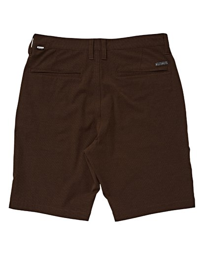 1 Boys' Crossfire X Shorts Brown B201VBCX Billabong