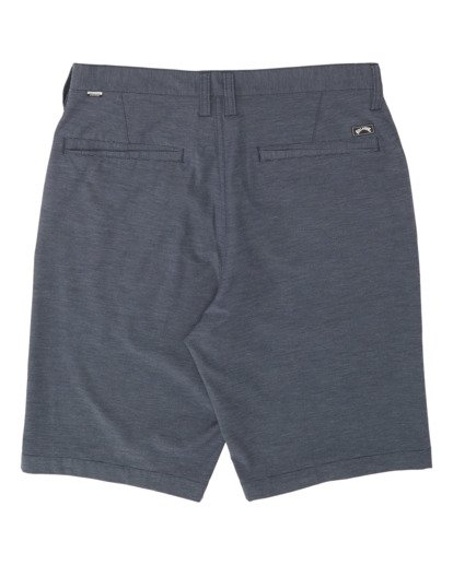 "1 Boys' Crossfire Submersible Walkshort 18"" Blue B2021BCX Billabong"