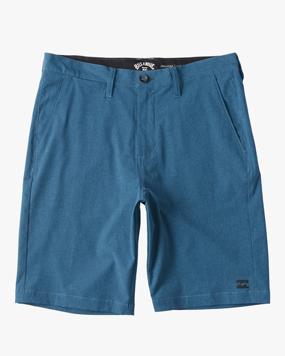 "0 Boys' Crossfire Submersible Short 18"" Grey B2021BCX Billabong"