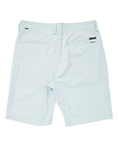 1 Boys' Crossfire X Slub Hybrid Shorts Blue B202TBCS Billabong