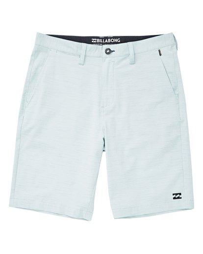 0 Boys' Crossfire X Slub Hybrid Shorts Blue B202TBCS Billabong