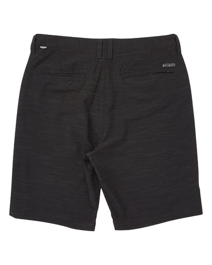 1 Boys' Crossfire X Slub Shorts Black B202VBCS Billabong