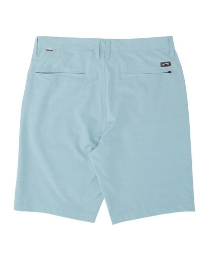 "1 Boys' Crossfire Slub Submersible Short 18"" Blue B2031BCS Billabong"
