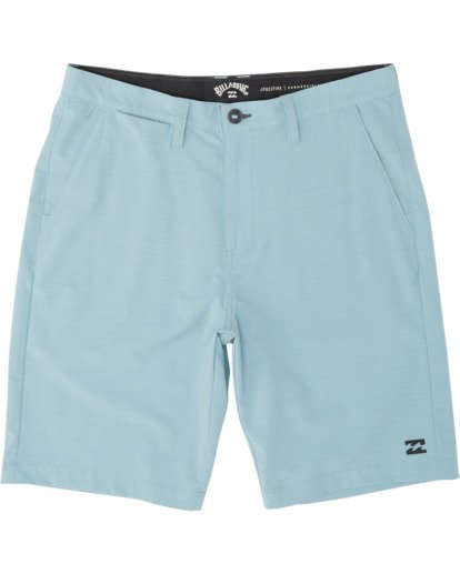 0 Boys' Crossfire Slub Submersible Walkshort Blue B2031BCS Billabong