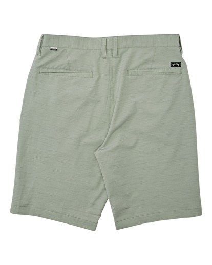 1 Boys' Crossfire Slub Submersible Walkshort Grey B2031BCS Billabong
