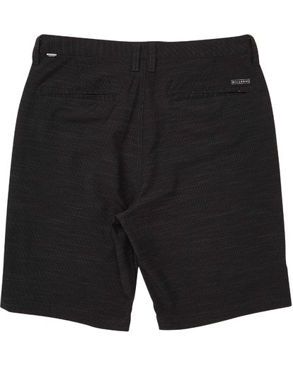 1 Boys' Crossfire X Slub Shorts Black B203NBCS Billabong