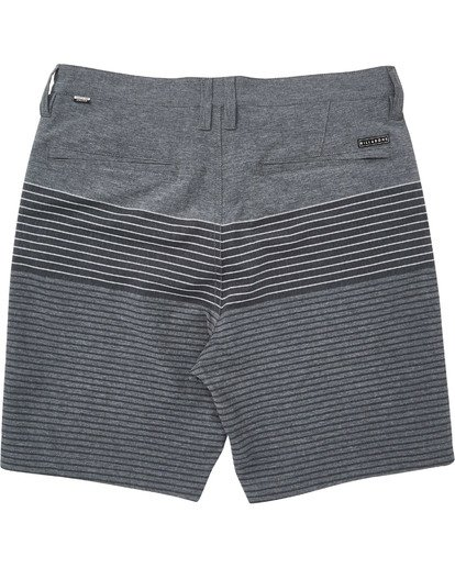 1 Boys' Crossfire X Stripe Shorts White B206TBCS Billabong