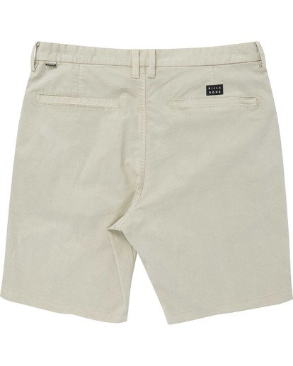 1 Boys' New Order X Overdye Walkshorts Red B207TBNO Billabong