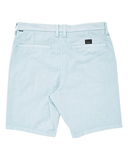 1 Boys' New Order X Overdye Walkshorts Blue B207TBNO Billabong