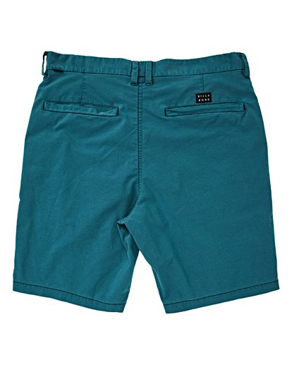 1 Boys' New Order X Ovd Shorts Green B207VBNO Billabong