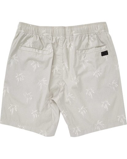 1 Boys' Larry Layback Sunday Boardshorts Beige B231TBLS Billabong