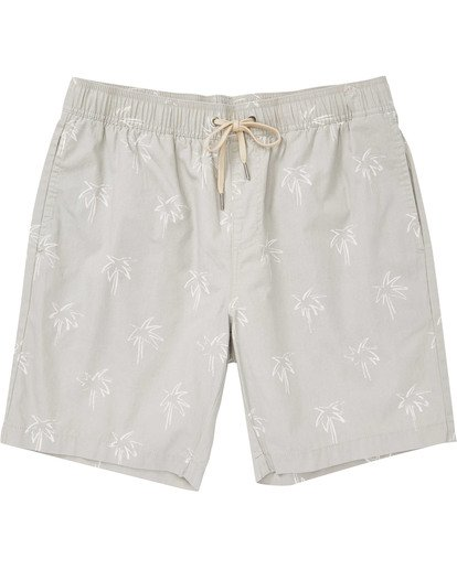 0 Boys' Larry Layback Sunday Boardshorts Beige B231TBLS Billabong