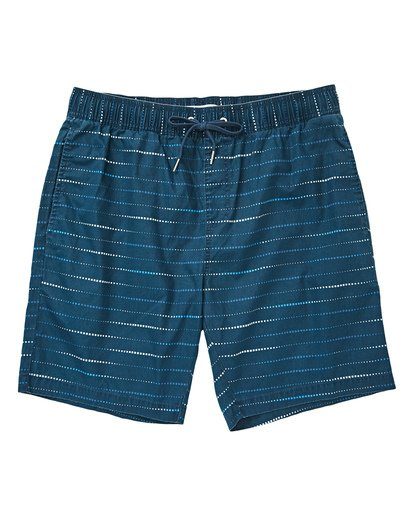 0 Boys' Larry Layback Sunday Walkshorts Blue B231TBLS Billabong