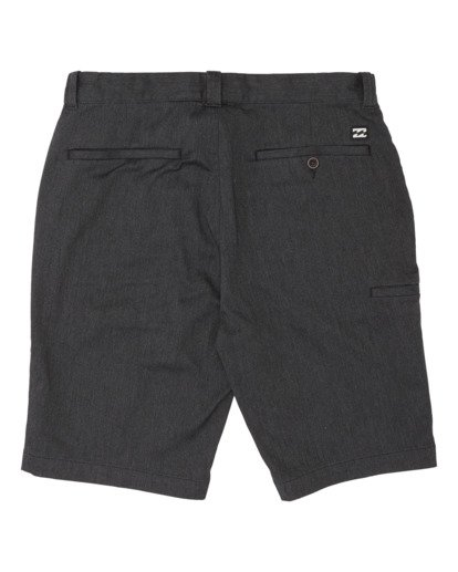 1 Boys' Carter Stretch Walkshort Black B2361BCS Billabong