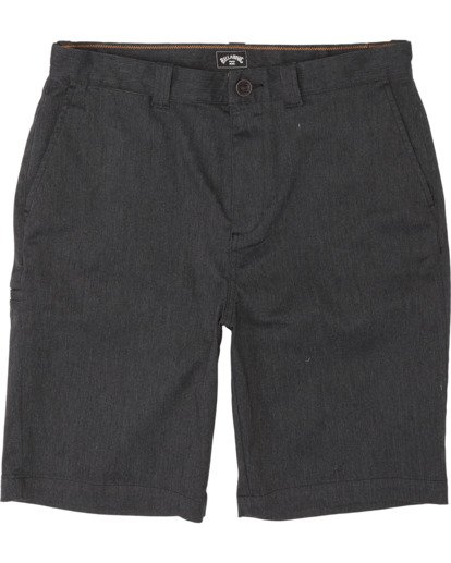 0 Boys' Carter Stretch Walkshort Black B2361BCS Billabong