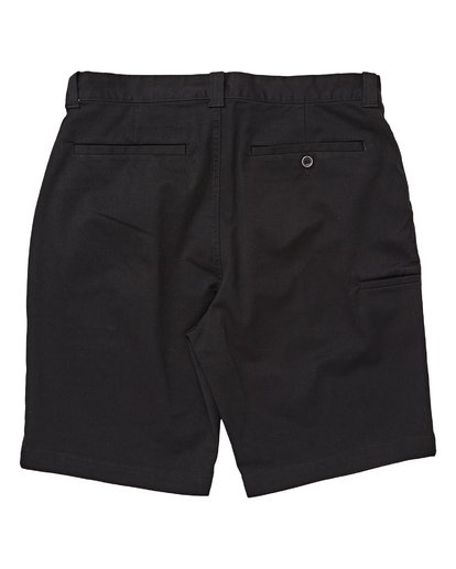 1 Boys' Carter Stretch Shorts Black B236TBCS Billabong