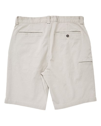 1 Boys' Carter Stretch Shorts Grey B236TBCS Billabong