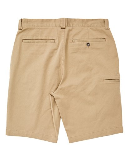 1 Boys' Carter Stretch Shorts Beige B236VBCS Billabong