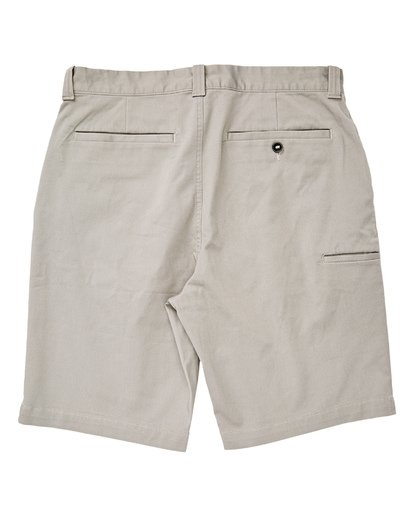 1 Boys' Carter Stretch Shorts Grey B236VBCS Billabong