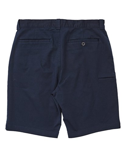 1 Boys' Carter Stretch Shorts Blue B236VBCS Billabong