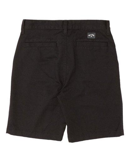 1 Boys' Sandpiper Twill Walkshort Black B2371BST Billabong