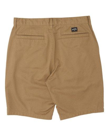 1 Boys' Sandpiper Twill Walkshort Brown B2371BST Billabong