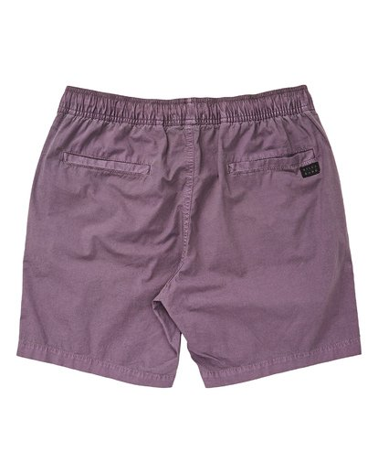 1 Boys' Larry Layback Walkshorts Purple B239TBLL Billabong