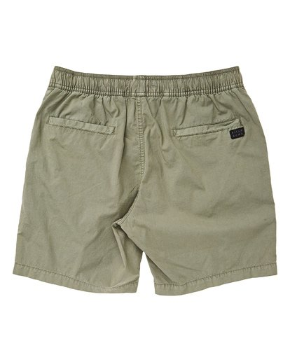1 Boys' Larry Layback Walkshorts Green B239TBLL Billabong