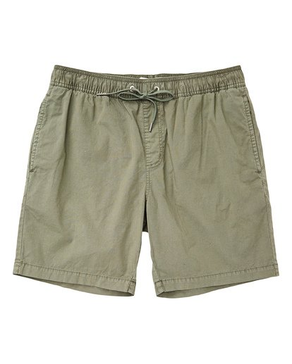 0 Boys' Larry Layback Walkshorts Green B239TBLL Billabong