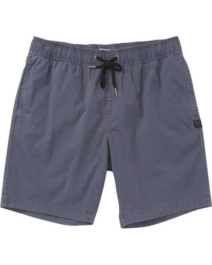0 Boys' Larry Layback Walkshorts White B239TBLL Billabong