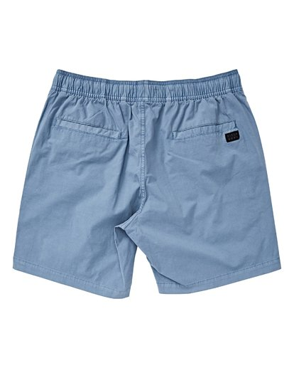 1 Boys' Larry Layback Walkshorts Blue B239VBLL Billabong