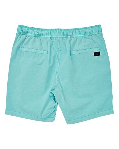 1 Boys' Larry Layback Walkshorts Grey B239VBLL Billabong