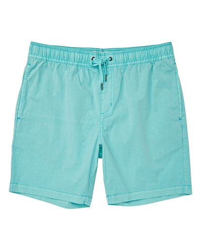 0 Boys' Larry Layback Walkshorts Grey B239VBLL Billabong