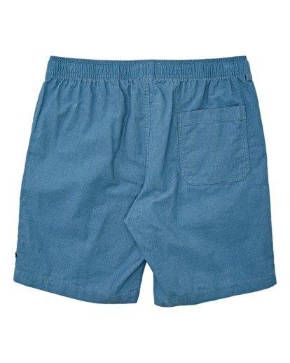 1 Larry Layback Corduroy Shorts Grey B2401BLC Billabong